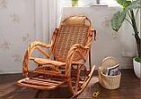 Кресло качалка из ротанги (плетен.) (RTN-049), фото 2