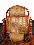 Кресло качалка из ротанги (плетен.) (RTN-049), фото 6