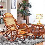 Кресло качалка из ротанги (плетен.) (RTN-049), фото 7