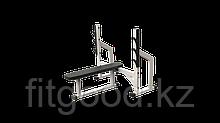 Скамья для штанги со стойками горизонтальная (KAR012)