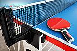 Всепогодный Теннисный стол Compact Expert Outdoor с сеткой, фото 5