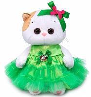 Кошка Ли-Ли Baby в платье с яблочком мягкая игрушка
