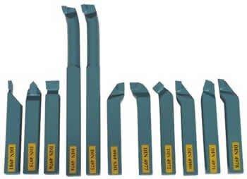 Набор резцов Optimum с напайными пластинами 16 мм (11 шт.)