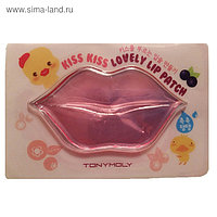 Маска-патч для губ Tony Moly Kiss Kiss Lovely, 10 г
