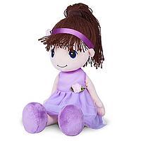 Мягкая игрушка «Кукла Стильняшка», брюнетка, 40 см