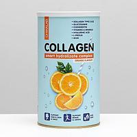 Протеиновый коктейль, CHIKALAB Collagen, апельсиновый, 400 г.