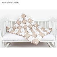 Одеяло-бонбон Royal Care, размер 85×115 см, коричневый