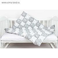 Одеяло-бонбон Royal Care, размер 85×115 см, серый