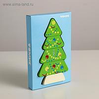 Деревянная пирамидка безосевая «Ёлочка» Томик