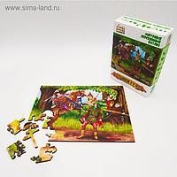 Страна сказок Фигурный деревянный пазл «Робин Гуд»