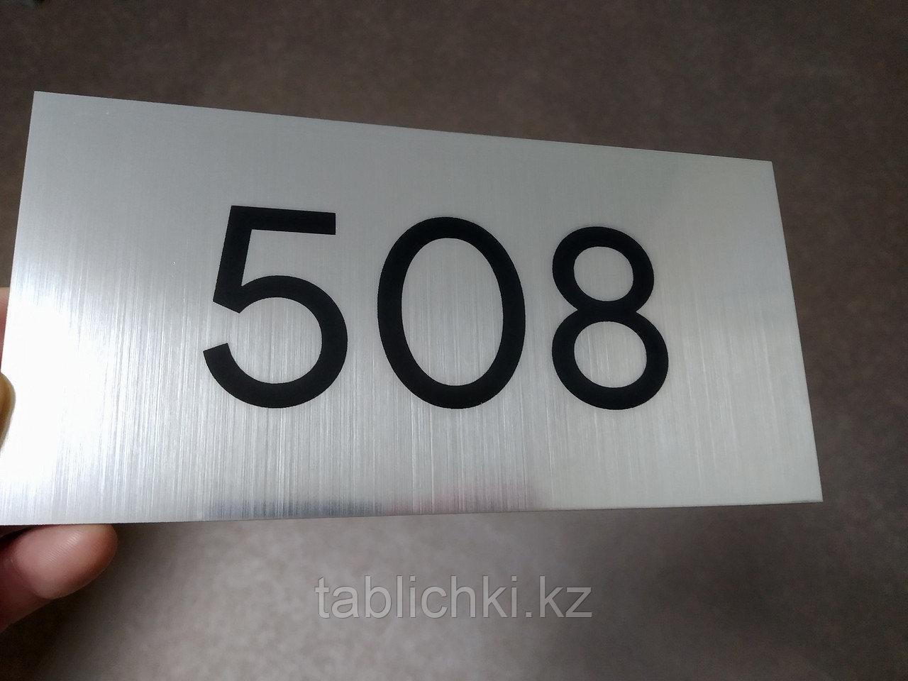 Кабинетные номерки для офисов