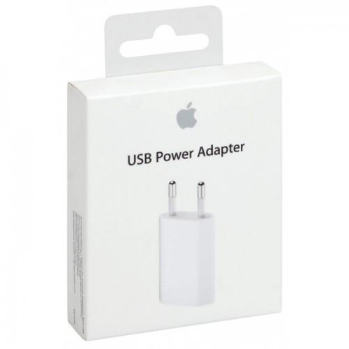 Зарядное устройство USB Power Adapter 5W iphone