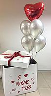Коробка-сюрприз с шарами на любой праздник