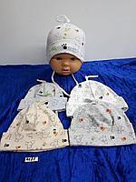 Шапочка весно-лето для новорождённого. Фирма Magrof