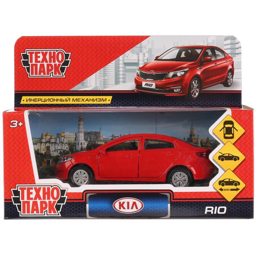 Машинка Kia Rio 12 см, Технопарк - фото 6