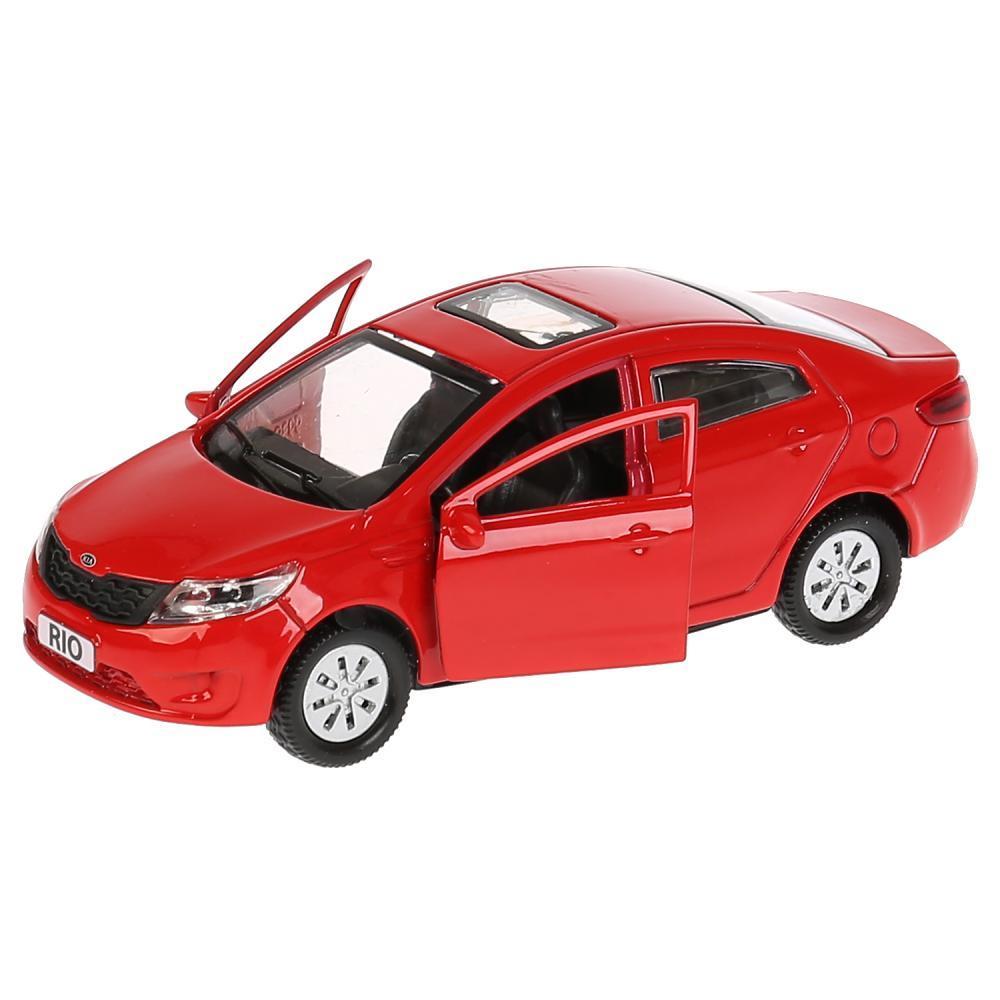 Машинка Kia Rio 12 см, Технопарк - фото 2