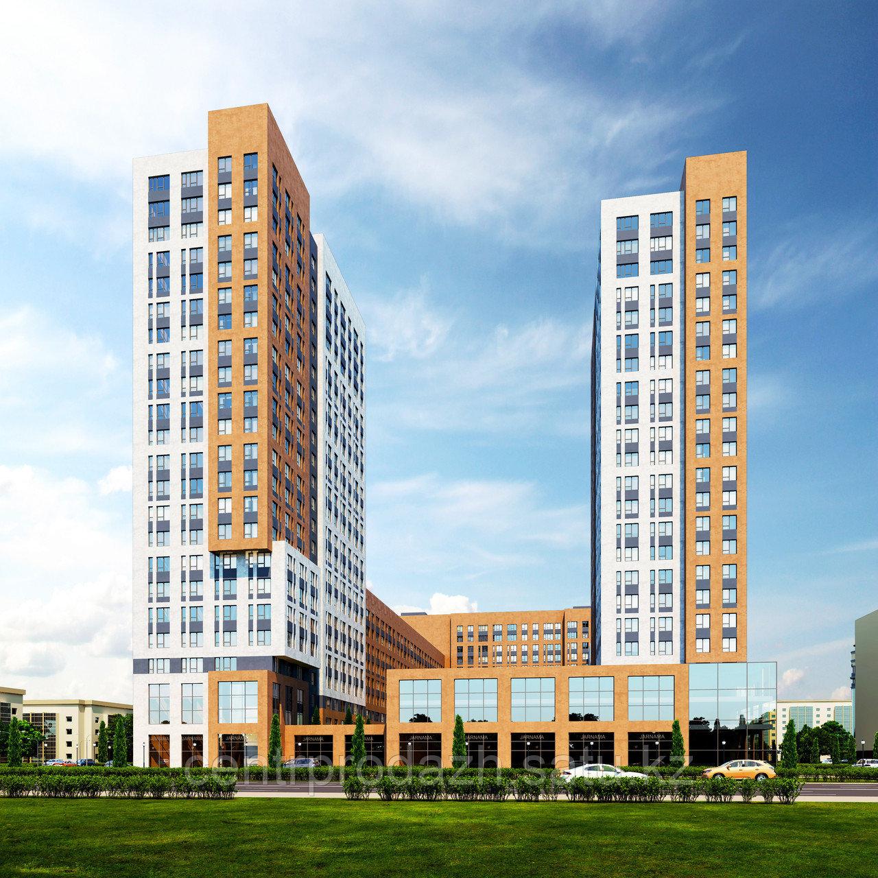 """2 комнатная квартира в ЖК """"Сенатор парк""""  88.32 м²"""