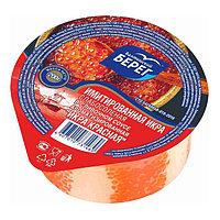 Икра имитированная красная в сливочном соусе Балтийский берег 0,2 кг