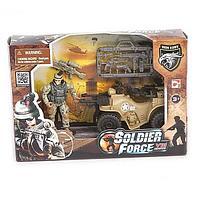 Игровой набор - Солдат на квадроцикле
