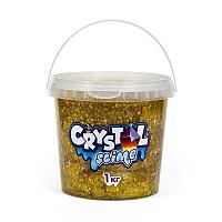 "Игрушка ""Slime"" Crystal slime, золотой, 1 кг"