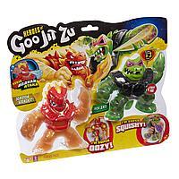 Гуджитсу Игровой набор Блейзагот и Рок Джо Водная Атака, тянущиеся фигурки ТМ GooJitZu