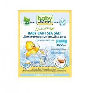 Babyline Nature 500 г соль морская д/ ванн