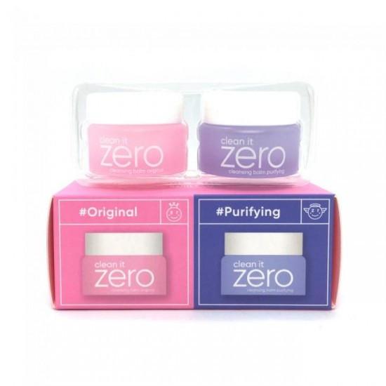 BANILA CO Дуэт Миниатюр Очищающих Бальзамов Clean It Zero Special Duo 2*7мл.