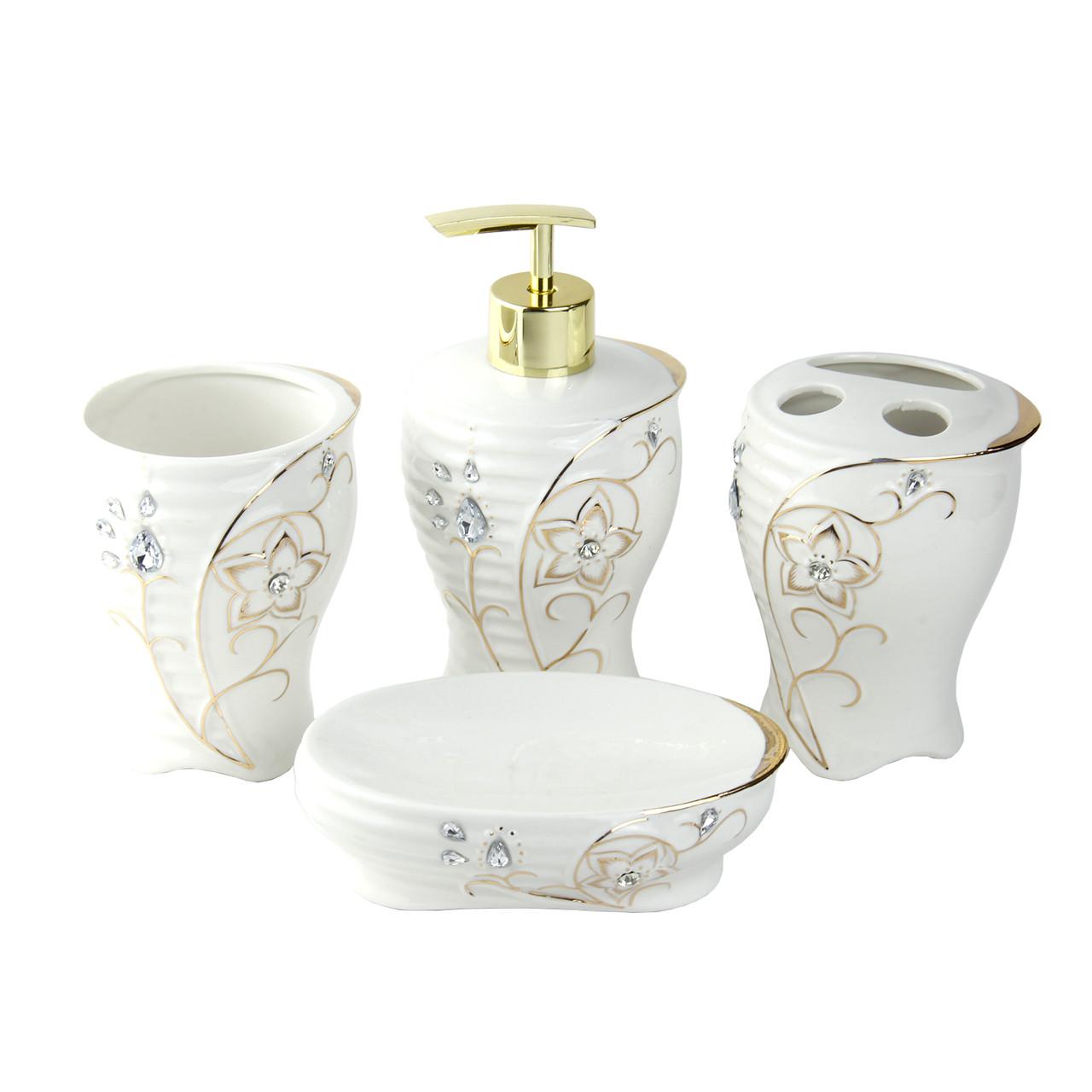 """Керамический набор для ванной комнаты """"Францис"""""""