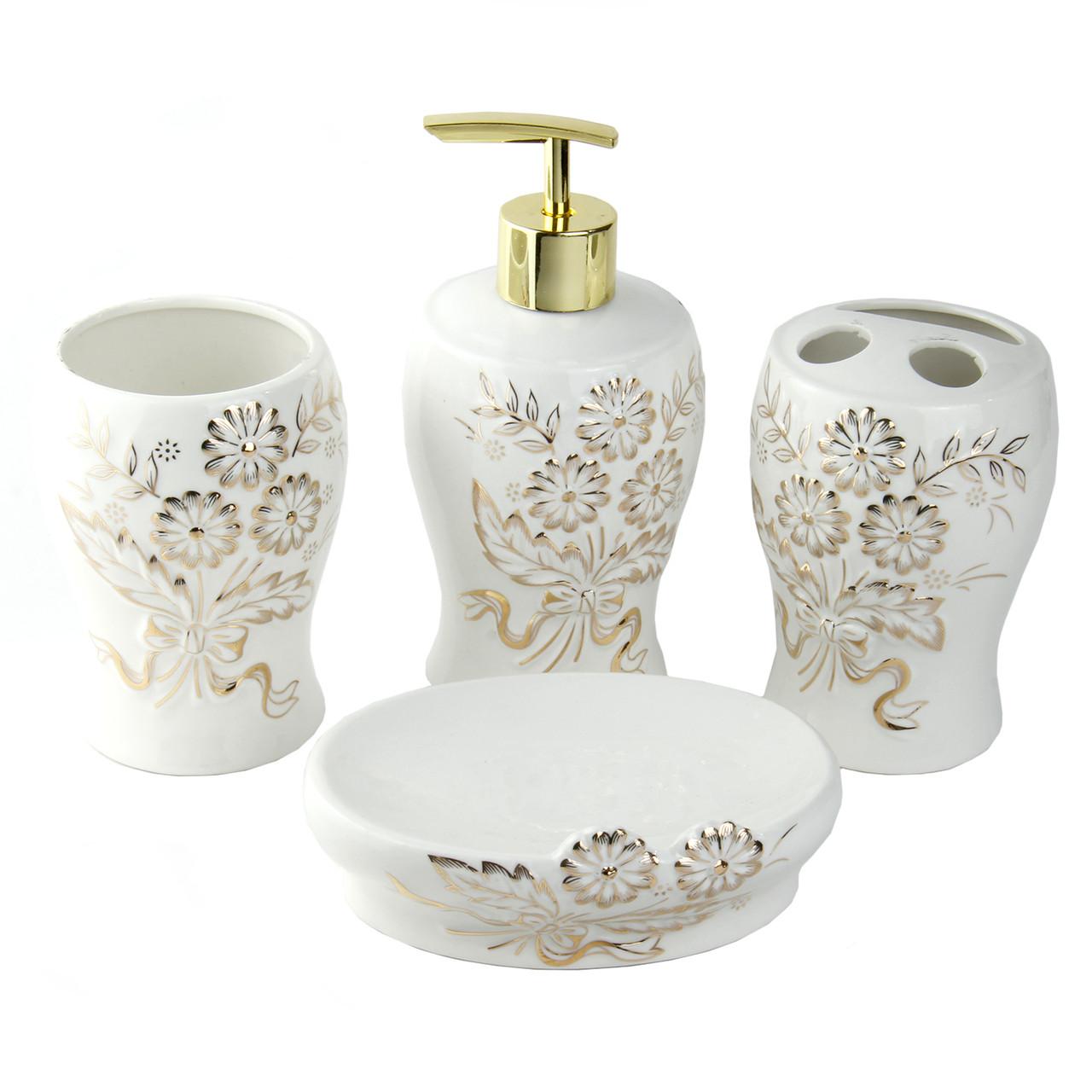 """Керамический набор для ванной комнаты """"Бетти"""""""