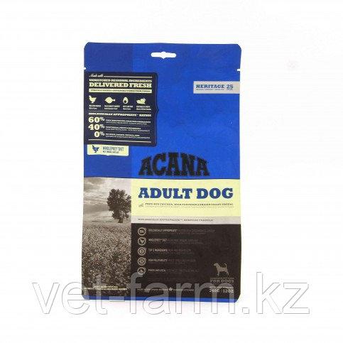 Сухой Корм Acana Adult Dog С Цыпленком Для Взрослых Собак , 340g