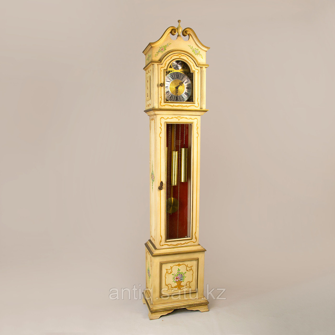 Напольные часы. Часовая мастерская Franz Hermle & Sohne. Германия. 1977 год. - фото 2