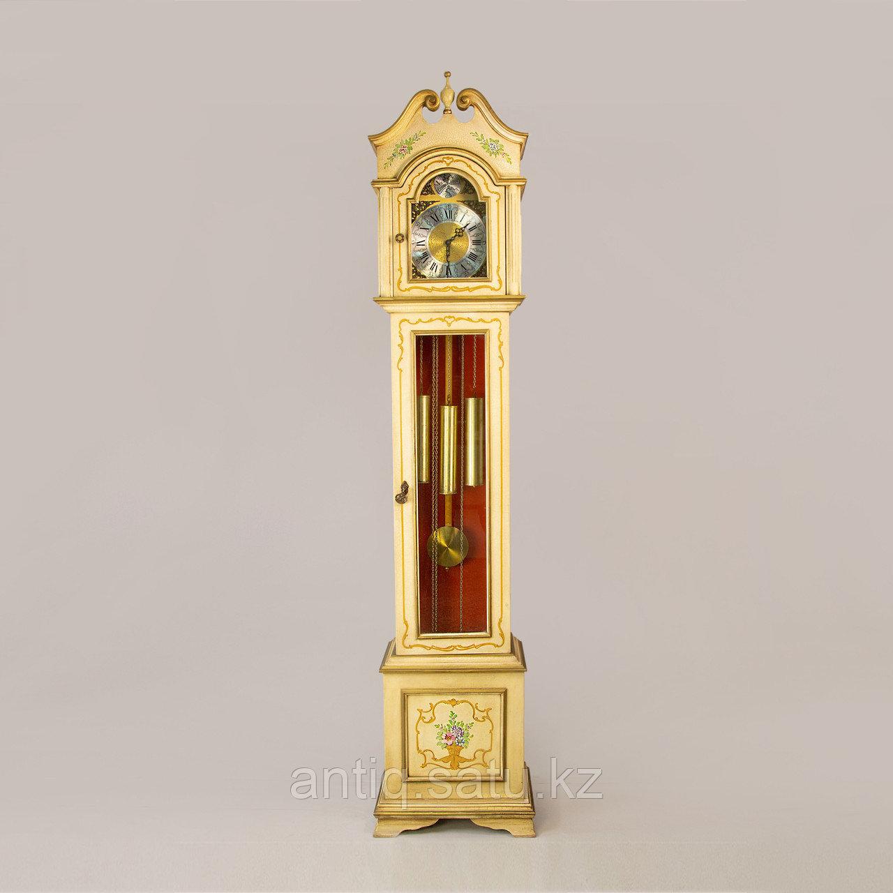 Напольные часы. Часовая мастерская Franz Hermle & Sohne. Германия. 1977 год. - фото 1