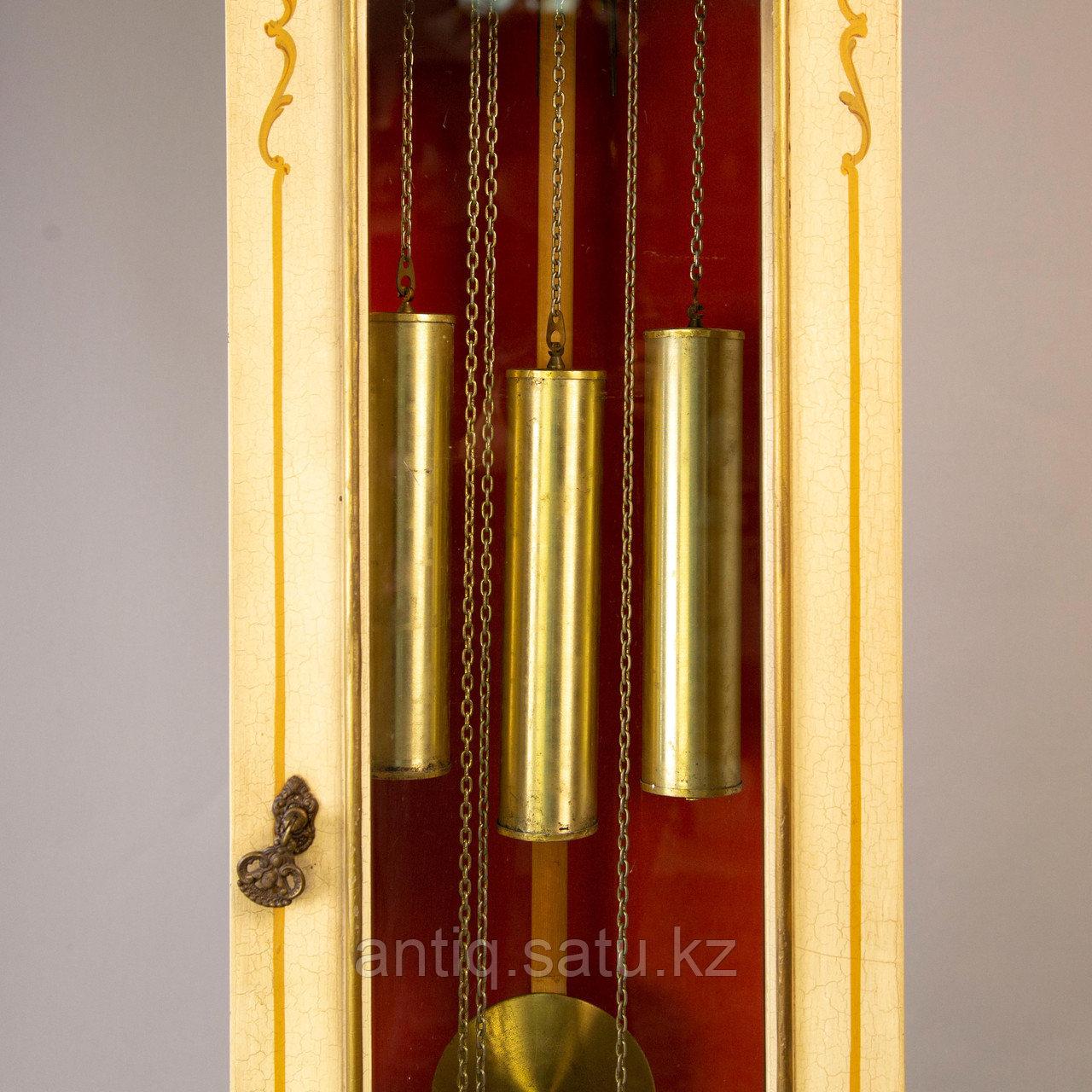 Напольные часы. Часовая мастерская Franz Hermle & Sohne. Германия. 1977 год. - фото 4