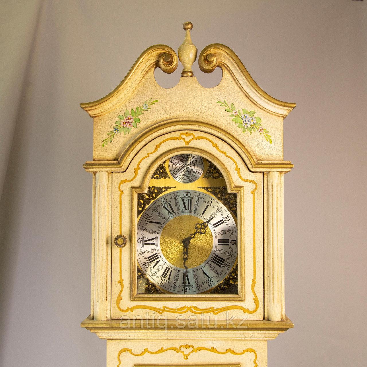Напольные часы. Часовая мастерская Franz Hermle & Sohne. Германия. 1977 год. - фото 6