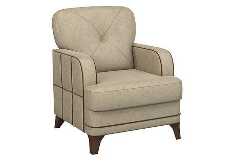 Кресло традиционное Черри, ТК180/1 Бежевый, Нижегородмебель и К (Россия), фото 2