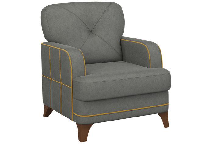 Кресло традиционное Черри, ТК179/1 Серый, Нижегородмебель и К (Россия), фото 2