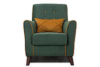 Кресло традиционное Френсис, ТК260 Зелёный, Нижегородмебель и К (Россия)