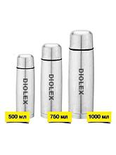 Термос DIOLEX DX-750-В 0,75л, чехол, узкое горло
