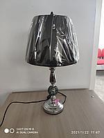 Настольная лампа с зеркальным основанием с мозаикой
