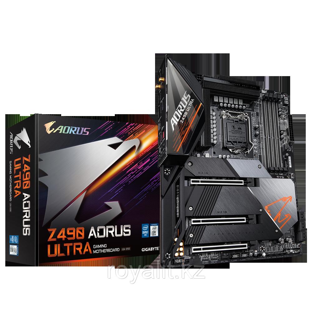 Материнская плата Gigabyte Z490 Aorus Ultra LGA1200