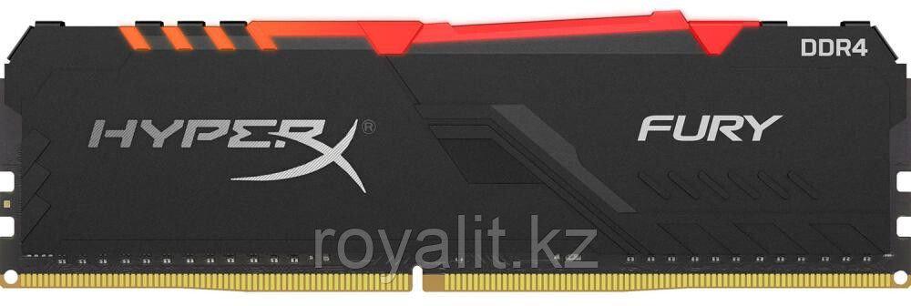 Модуль памяти Kingston HyperX Fury RGB HX432C16FB3A/32 DDR4 DIMM 32Gb 3200 MHz CL16