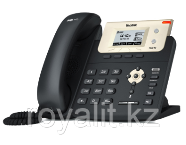 SIP-телефон Yealink SIP-T21P E2, 2 линии, PoE, с БП