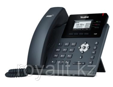 SIP-телефон Yealink SIP-T40P, 3 аккаунта, BLF, PoE, без блока питания