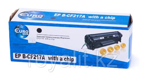 Картридж EuroPrint HP CF217А (с чипом)