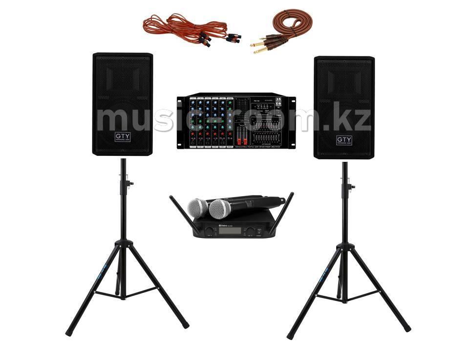 Комплект звуковой  аппаратуры 400 Ватт