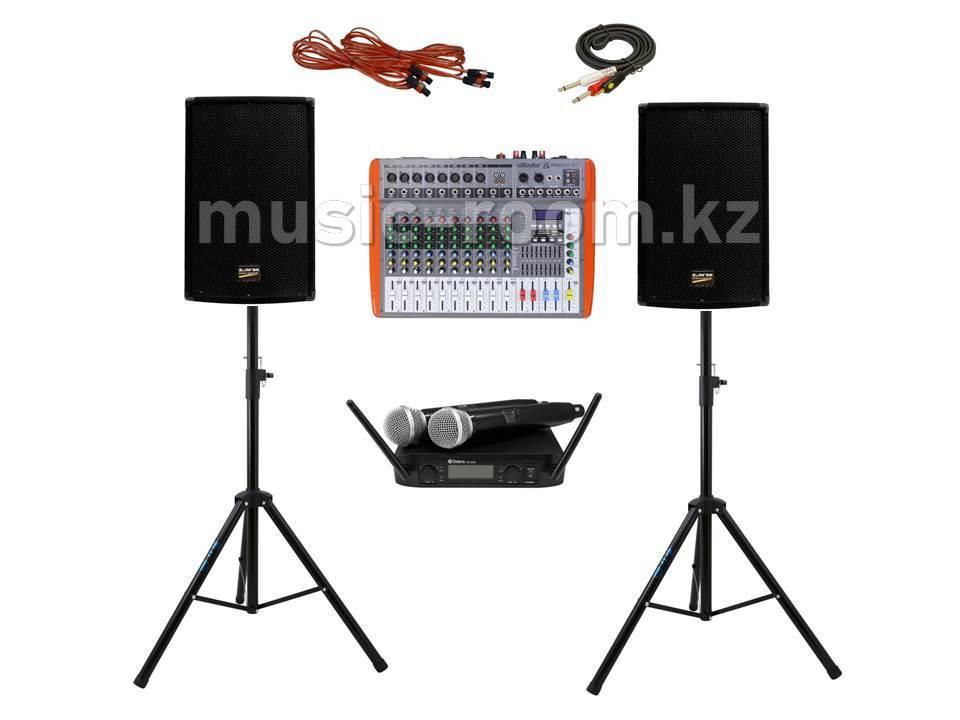 Комплект звуковой аппаратуры 800 Ватт