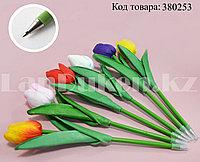 Ручка шариковая в виде тюльпана в ассортименте