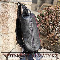 Кожаный рюкзак-слинг  BULLCAPTAIN, фото 2