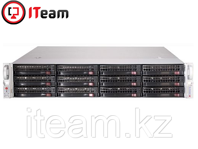 Сервер Supermicro 2U/2xBronze 3206R 1,9GHz/64Gb/1x250Gb SSD/12x6Tb