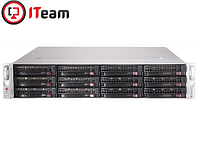 Сервер Supermicro 2U/2xBronze 3206R 1,9GHz/64Gb/1x250Gb SSD/12x6Tb, фото 1